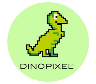 Dino píxel